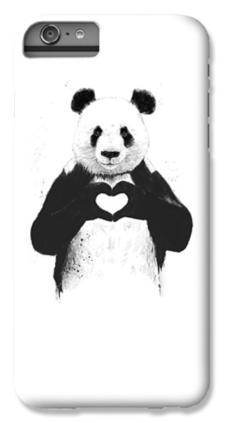 All You Need Is Love IPhone 7 Plus Case by Balazs Solti