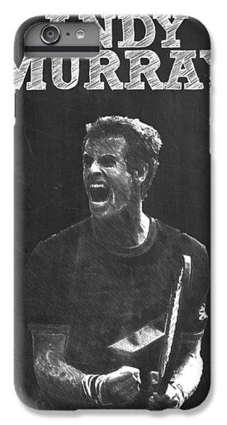 Andy Murray IPhone 7 Plus Case by Semih Yurdabak