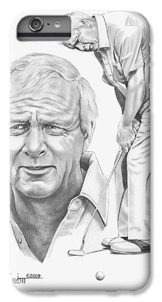 Arnold Palmer IPhone 7 Plus Case by Murphy Elliott