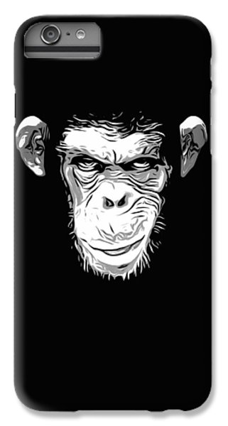 Evil Monkey IPhone 7 Plus Case by Nicklas Gustafsson