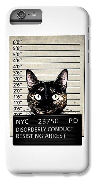Kitty Mugshot IPhone 7 Plus Case by Nicklas Gustafsson