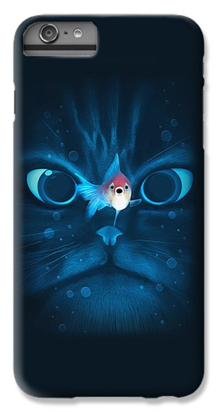 Cat Fish IPhone 7 Plus Case by Nicholas Ely