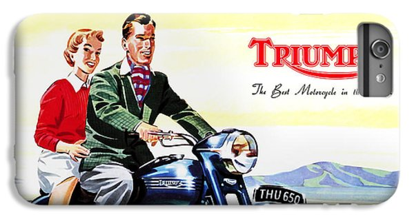 Triumph 1953 IPhone 7 Plus Case by Mark Rogan
