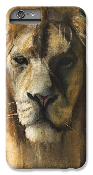 Asiatic Lion IPhone 7 Plus Case by Mark Adlington