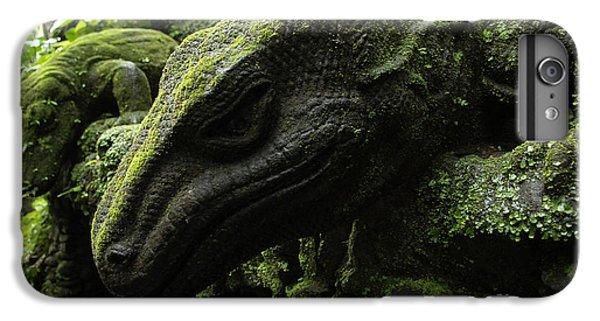Bali Indonesia Lizard Sculpture IPhone 7 Plus Case by Bob Christopher