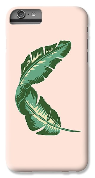 Banana Leaf Square Print IPhone 7 Plus Case by Lauren Amelia Hughes