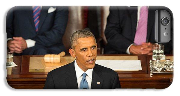 Barack Obama 2015 Sotu Address IPhone 7 Plus Case by Science Source