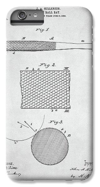 Baseball Bat Patent IPhone 7 Plus Case by Taylan Soyturk