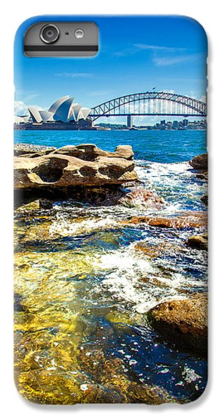 Behind The Rocks IPhone 7 Plus Case by Az Jackson