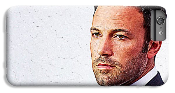Ben Affleck IPhone 7 Plus Case by Iguanna Espinosa