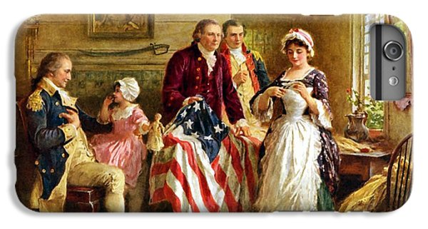 Betsy Ross And General George Washington IPhone 7 Plus Case by War Is Hell Store