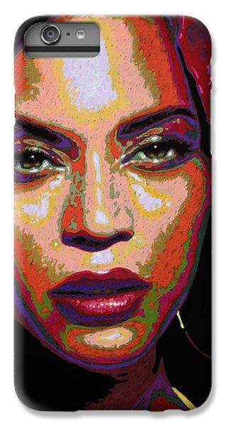Beyonce IPhone 7 Plus Case by Maria Arango
