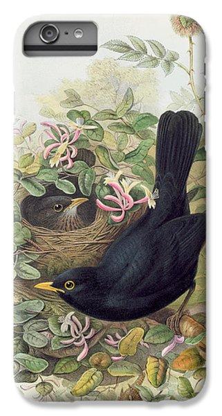 Blackbird,  IPhone 7 Plus Case by John Gould