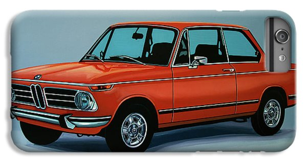 Bmw 2002 1968 Painting IPhone 7 Plus Case by Paul Meijering