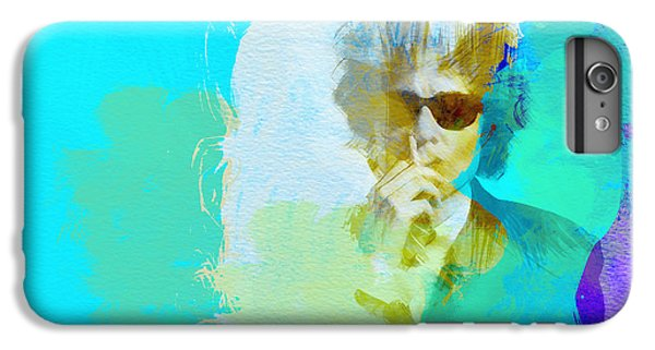 Bob Dylan IPhone 7 Plus Case by Naxart Studio