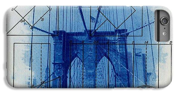 Brooklyn Bridge IPhone 7 Plus Case by Jane Linders