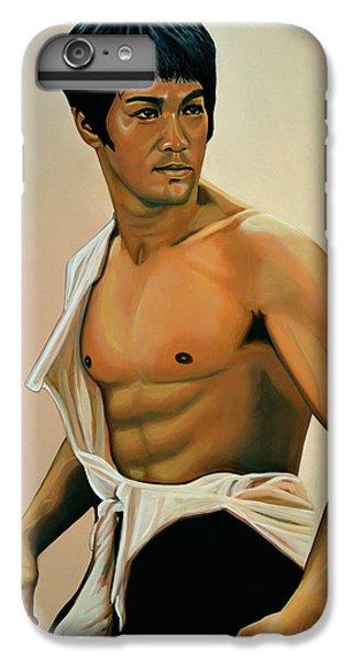 Bruce Lee Painting IPhone 7 Plus Case by Paul Meijering