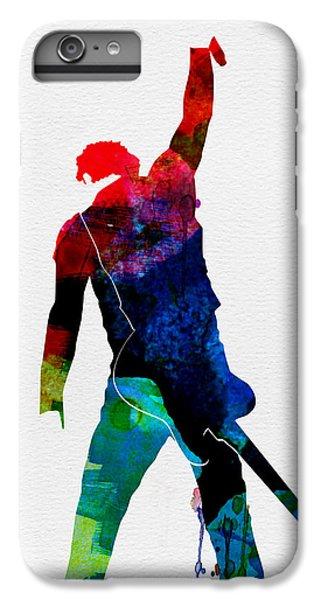 Bruce Watercolor IPhone 7 Plus Case by Naxart Studio