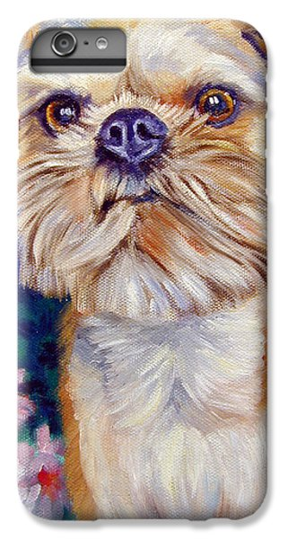 Brussels Griffon IPhone 7 Plus Case by Lyn Cook