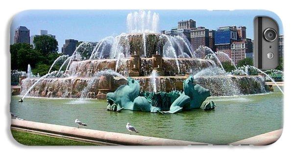 Buckingham Fountain IPhone 7 Plus Case by Anita Burgermeister