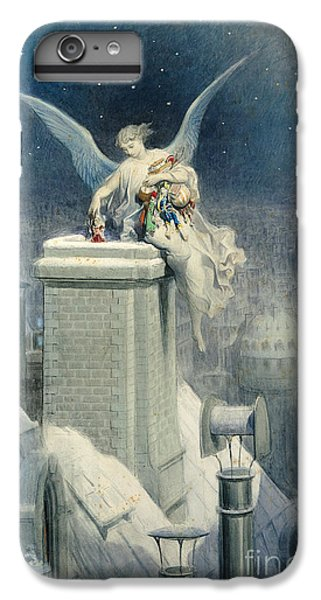 Christmas Eve IPhone 7 Plus Case by Gustave Dore