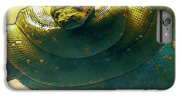 Coiled IPhone 7 Plus Case by Jack Zulli
