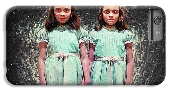 Come Play With Us - The Shining Twins IPhone 7 Plus Case by Taylan Apukovska