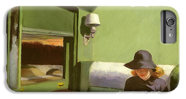 Compartment C IPhone 7 Plus Case by Edward Hopper
