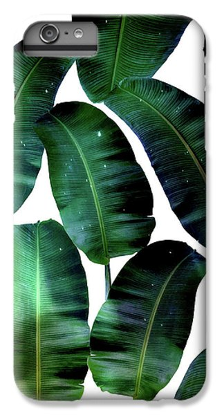 Cosmic Banana Leaves IPhone 7 Plus Case by Uma Gokhale