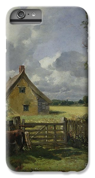 Cottage In A Cornfield IPhone 7 Plus Case by John Constable