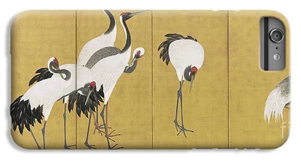 Cranes IPhone 7 Plus Case by Maruyama Okyo