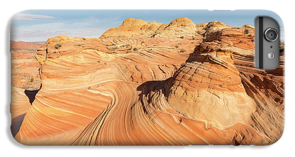 Curves Into Waves IPhone 7 Plus Case by Tim Grams