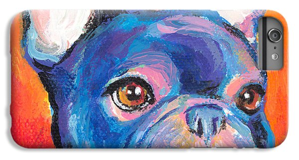Cute French Bulldog Painting Prints IPhone 7 Plus Case by Svetlana Novikova