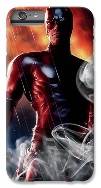 Daredevil Collection IPhone 7 Plus Case by Marvin Blaine