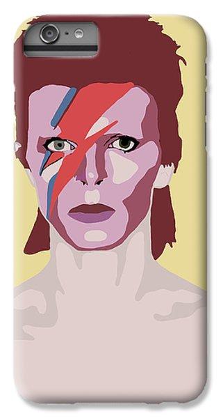 David Bowie IPhone 7 Plus Case by Nicole Wilson