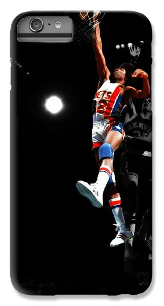Doctor J Over The Top IPhone 7 Plus Case by Brian Reaves