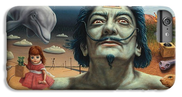 Dolly In Dali-land IPhone 7 Plus Case by James W Johnson