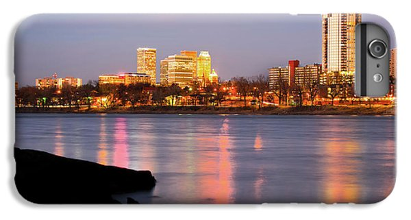 Downtown Tulsa Oklahoma - University Tower View IPhone 7 Plus Case by Gregory Ballos