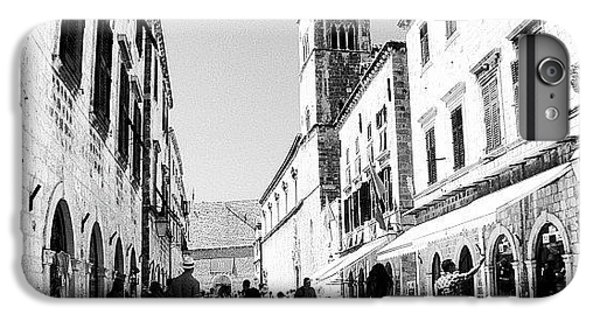 #dubrovnik #b&w #edit IPhone 7 Plus Case by Alan Khalfin