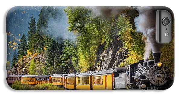 Durango-silverton Narrow Gauge Railroad IPhone 7 Plus Case by Inge Johnsson