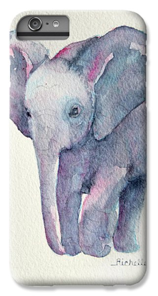E Is For Elephant IPhone 7 Plus Case by Richelle Siska