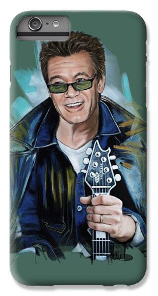 Eddie Van Halen IPhone 7 Plus Case by Melanie D