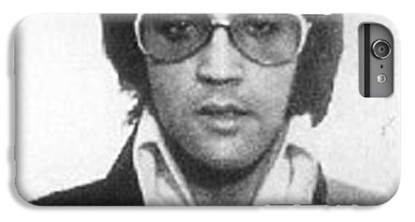 Elvis Presley Mug Shot Vertical IPhone 7 Plus Case by Tony Rubino