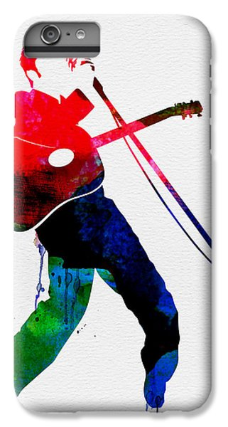Elvis Watercolor IPhone 7 Plus Case by Naxart Studio