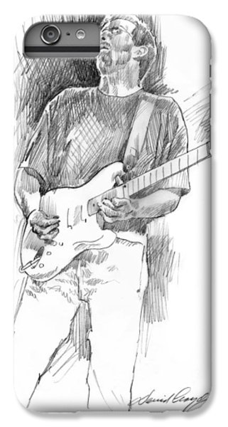 Eric Clapton Strat IPhone 7 Plus Case by David Lloyd Glover