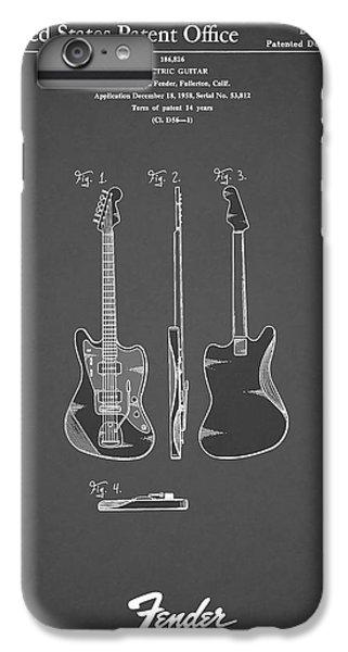Fender Electric Guitar 1959 IPhone 7 Plus Case by Mark Rogan