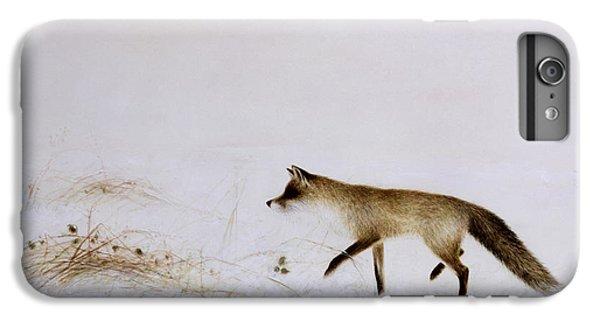 Fox In Snow IPhone 7 Plus Case by Jane Neville