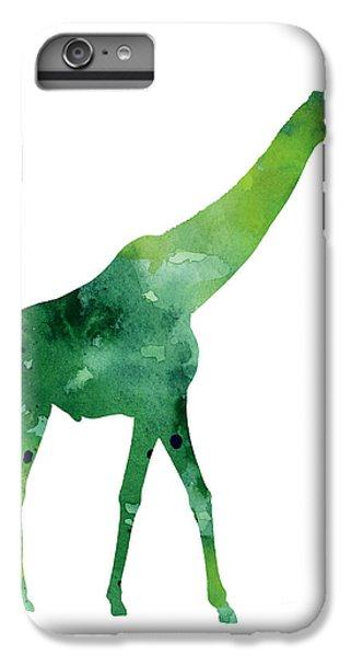 Giraffe African Animals Gift Idea IPhone 7 Plus Case by Joanna Szmerdt