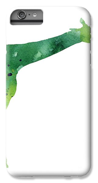 Giraffe Drawing Watercolor Art Print IPhone 7 Plus Case by Joanna Szmerdt