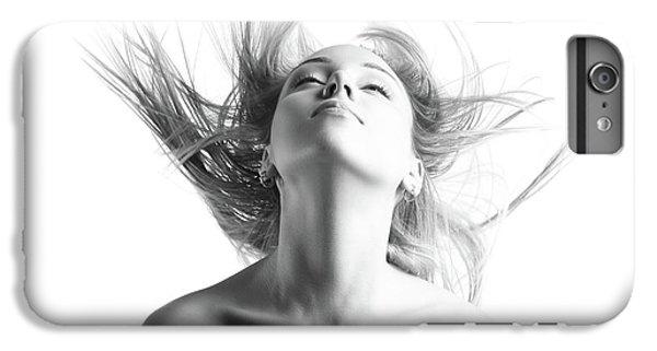 Girl With Flying Blond Hair IPhone 7 Plus Case by Olena Zaskochenko